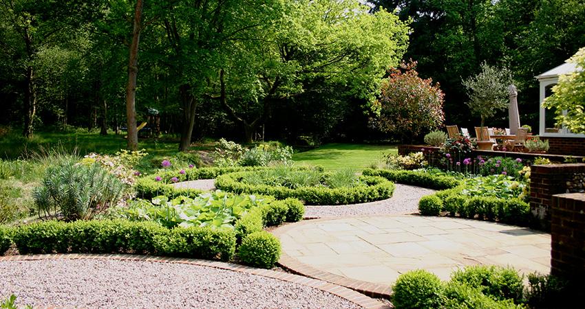 Woodland Garden Euphorbia Design